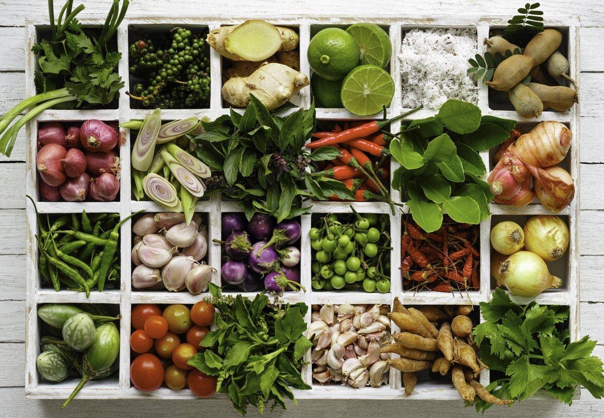 Thai herbs organic