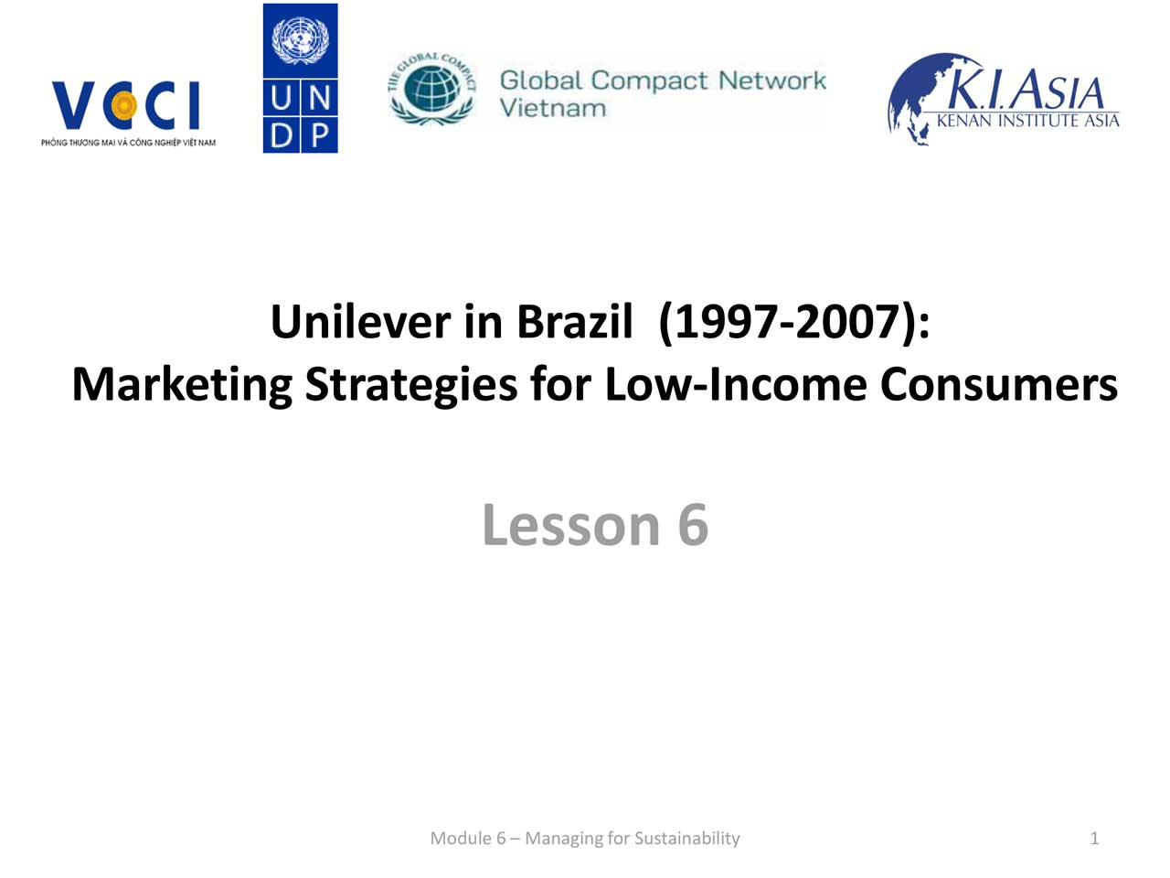unilever in brazil marketing strategies for Course 2 of 4 in the specialization pricing strategy optimization the traditional   marketing, sales & pricing practice ronald t wilcox  let me introduce you  to ala by unilever the story takes place in brazil now brazil is.