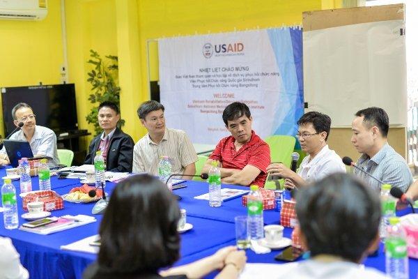 Vietnam Disabilities Study Tour 1