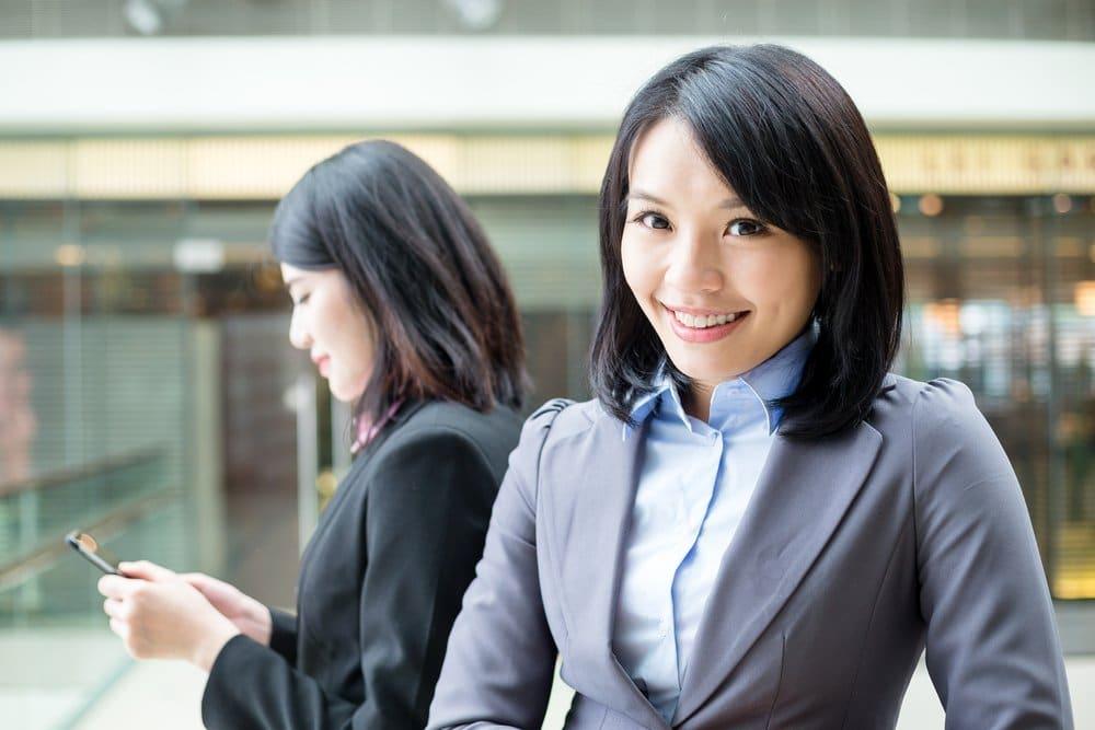 businesswoman thai