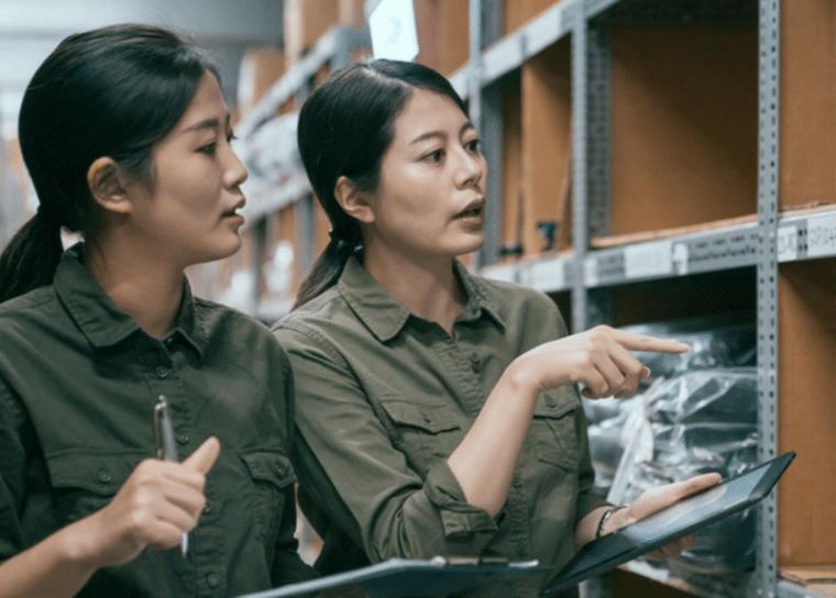 asian women workers